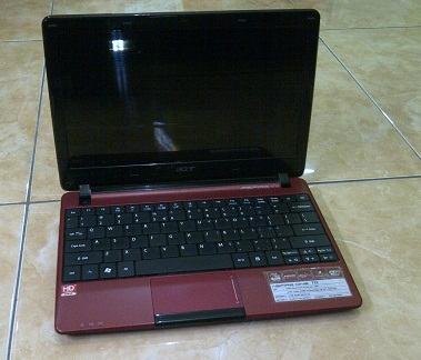 Notebook Bekas ACER Aspire One 722 1-Jutaan