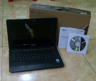 Notebook Bekas ASUS X200MA Fullset Seperti Baru