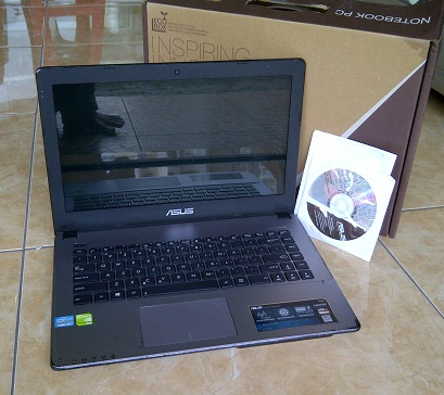 Laptop Bekas ASUS X450CC-WX248D Core i3 Ivy Gaming