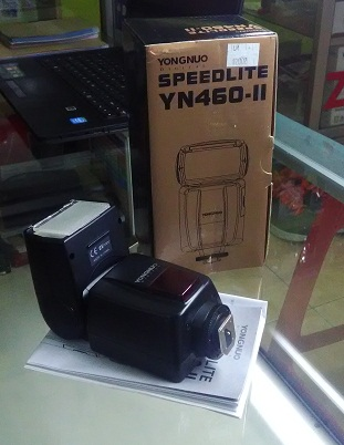 Digital Flash YONGNUO Speedlite YN460-II Mulus Fullset