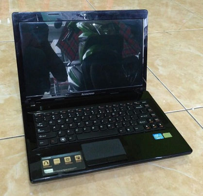 Laptop Second LENOVO G480 Core-i3 2-jutaan dimalang