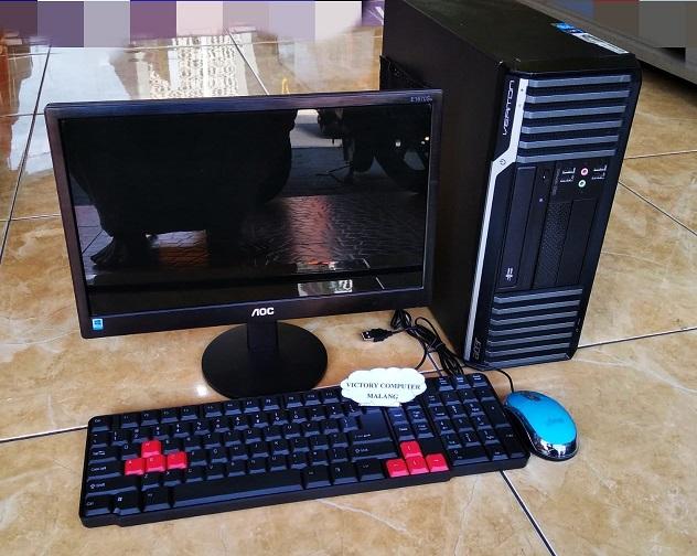 CPU Bekas ACER Veritor s680 Core-i5 + LED AOC 2-jutaan diMalang